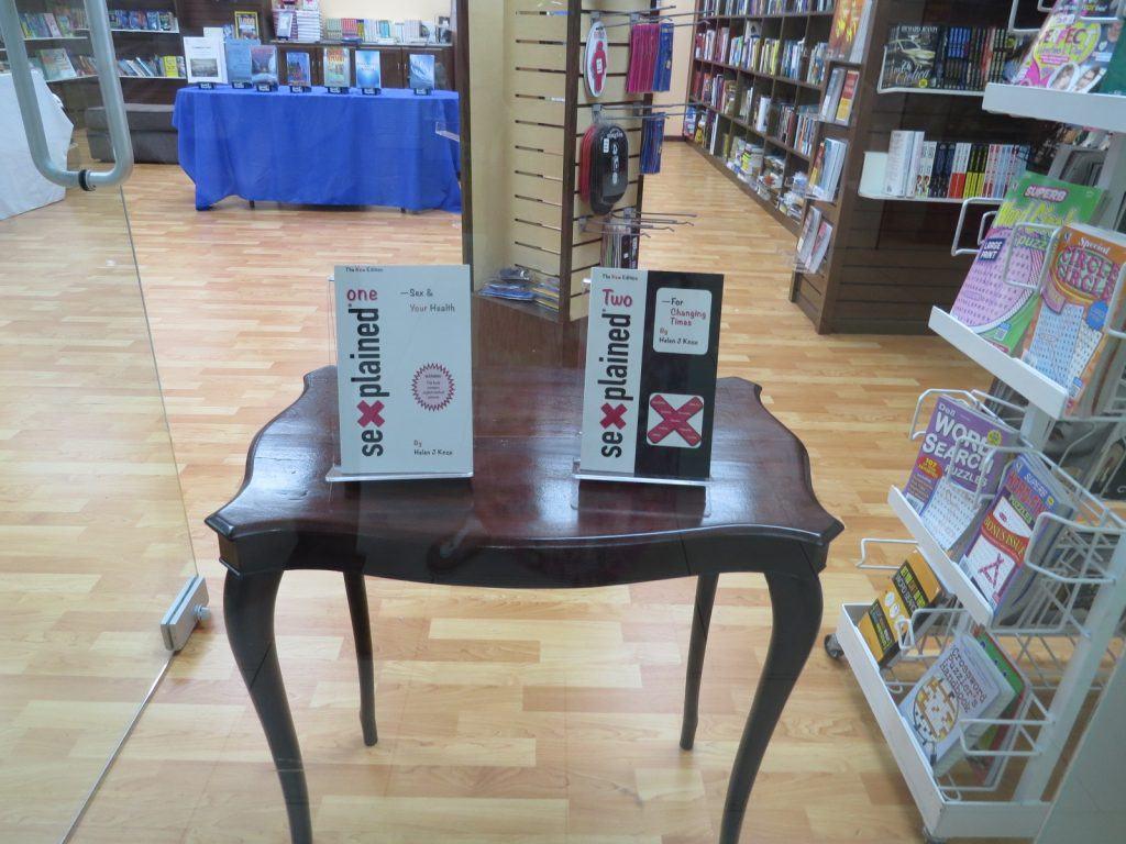 Sexplained Books On Display